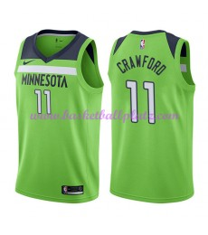 Minnesota Timberwolves Trikot Herren 2018-19 Jamal Crawford 11# Statement Edition Basketball Trikots..